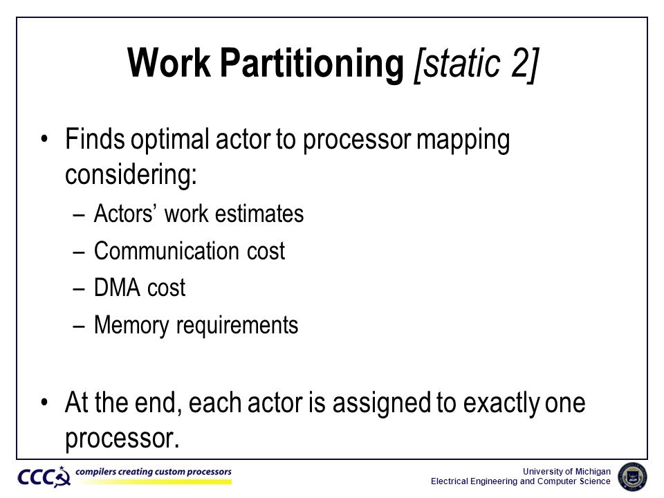 Work Partitioning [static 2]
